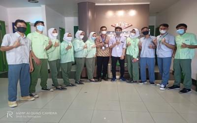 Penarikan PKL 6 Bulan dan Penerjunan kembali di PT Soho Industri Farmasi Kawasan Industri Pulogadung Jakarta Timur